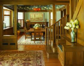 Arts And Crafts Style Homes Interior Design by 10 Green Dining Room Design Ideas