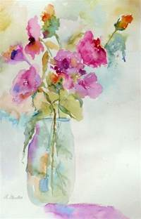 water color flowers nancy standlee watercolor floral painting 12102