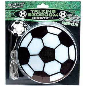 bedroom doorbell talking football bedroom doorbell novelty gift review compare prices buy online