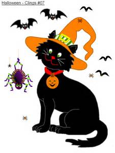 free printable halloween cling decorations