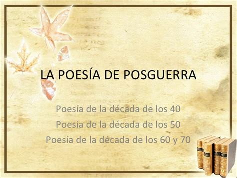 Poesa Espaola la poes 237 a espa 241 ola de posguerra