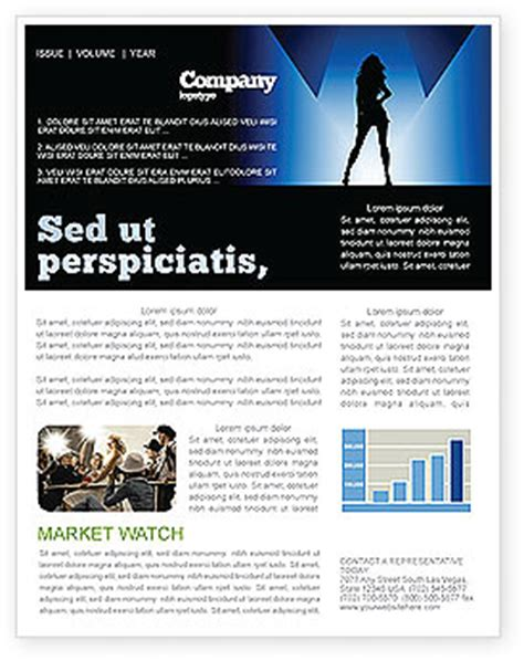 fashion newsletter templates fashion show newsletter template for microsoft word
