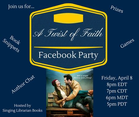 twist of faith books review and a giveaway a twist of faith by pepper d