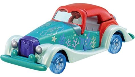 Tomica Disney The Cat Dm 20 disney motors dm 20 ariel tomica tomica car bike plamoya