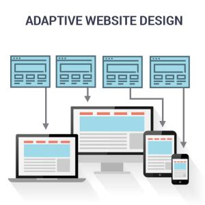 adaptive layout web design adaptive vs responsive website design digital shifters