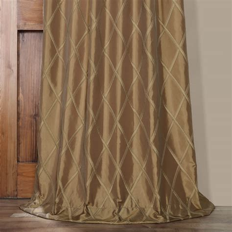gold taffeta curtains alexandria gold taffeta faux silk curtains drapes