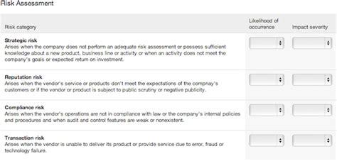 Perform Vendor Risk Assessments With Our Software Vendorrisk Vendor Risk Management Template
