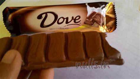 187 coklat dove lumayan sih tapi sayang