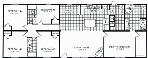 5 bedroom floorplans modular and manufactured homes in ar