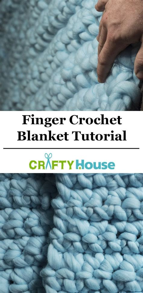 how to finger knit a blanket 20 best ideas about finger crochet on
