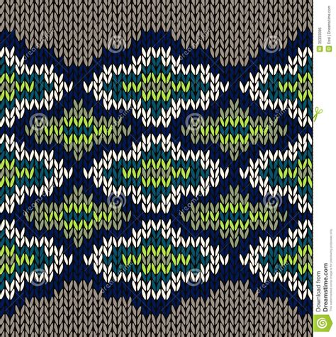 knit seamless jacquard ornament texture stock vector