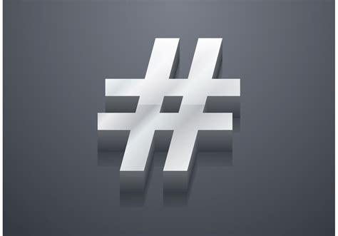 art design hashtags free 3d hashtag vector download free vector art stock
