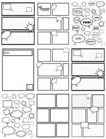 comic template creator raising a boy who to write playful learning
