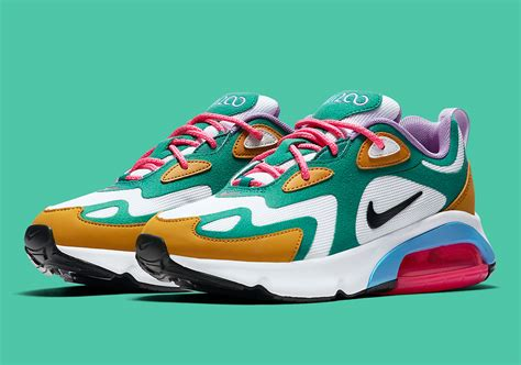 Nike Air Max 200 Mystic by Nike Air Max 200 Mystic Green At6175 300 Release Date Sneakernews