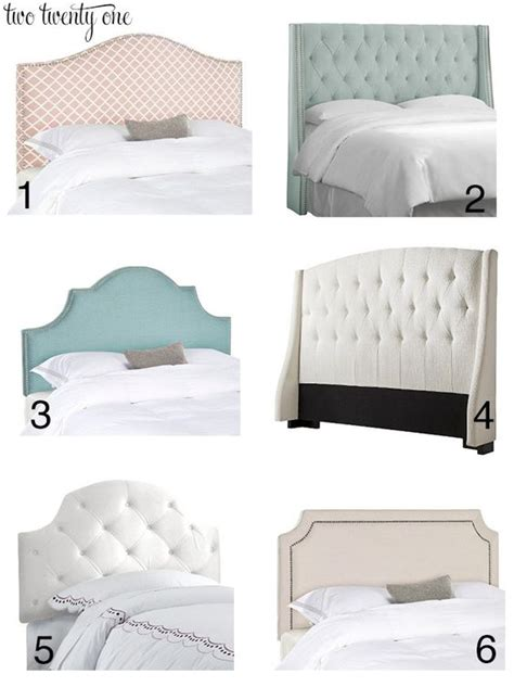 Design For Headboard Shapes Ideas Inexpensive Upholstered Headboards Target Shape And Diy And Crafts