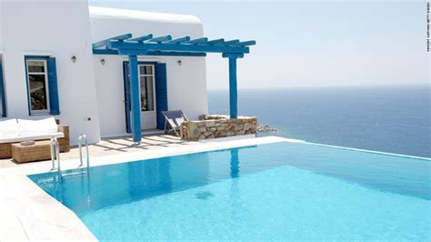 Luxury House Plans With Pools greek crisis sparks bargains on island villas jul 8 2015