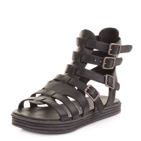 black strappy gladiator sandals womens blowfish rincon black strappy buckle gladiator