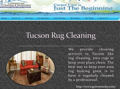 rug cleaning tucson tucson water cleanup