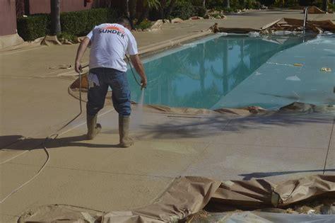concrete coating specialists inc las vegas pool deck