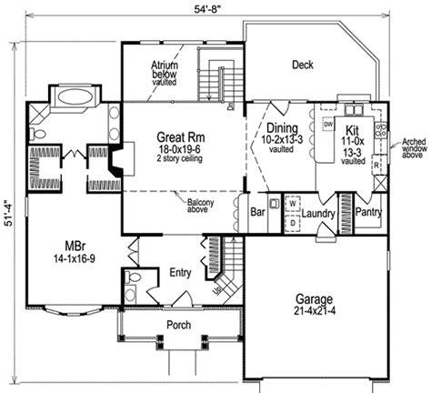 floor plan with balcony balcony enjoys spectacular views in atrium home 5766ha