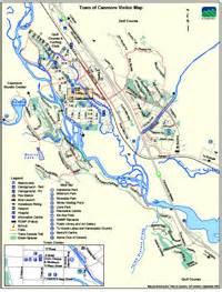 kananaskis maps canmore alberta and area maps to