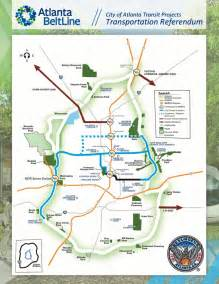 Atlanta Beltline Map by Atlanta Beltline Expensive Redevelopment Project Almost