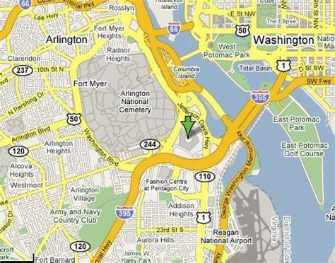washington dc map pentagon a cruise missile slammed into the pentagon on 911 boards ie