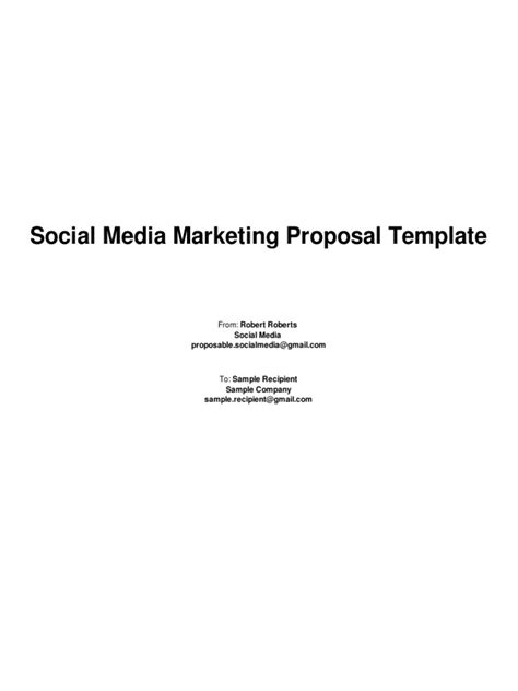 marketing proposal templates commercial lease agreement