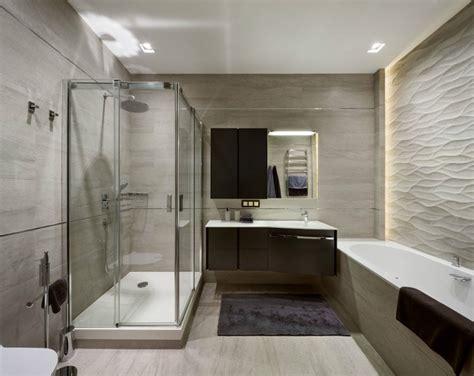 indirekte beleuchtung badezimmer modernes badezimmer 3d wandpaneele und indirekte