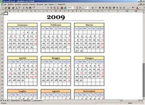 Calendario Giorni Festivi 2011 Italia Calendario Annuale Con Excel