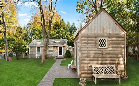 a tiny home for kicking back in htons zillow