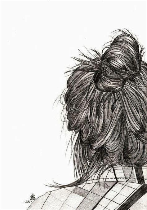 doodle hair bun hair bun sketch bun the s go to doodles