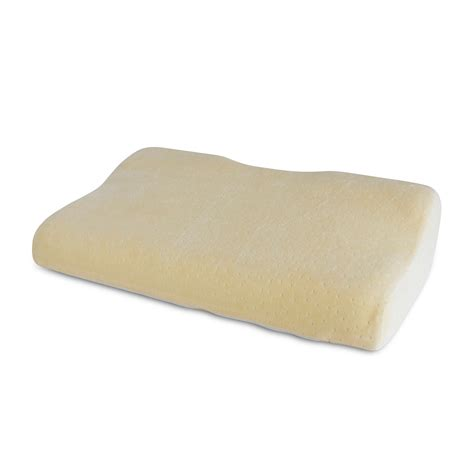Italian Memory Foam Pillow by Ideal Comfort Italian Style Shoulder Memory Foam Support Pillow Rest By Home