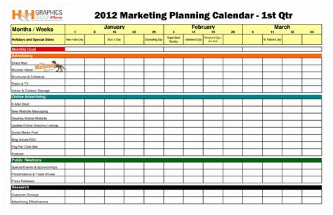 Unique Social Media Calendar Template Templates Design Social Media Marketing Template