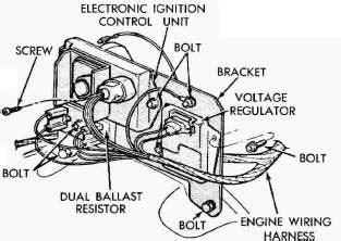 dodge ballast resistor ohms dave s place dodge electronic ignition