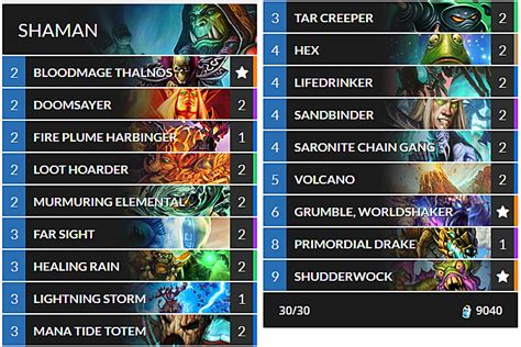 shaman deck builds how to build shudderwock shaman in hearthstone