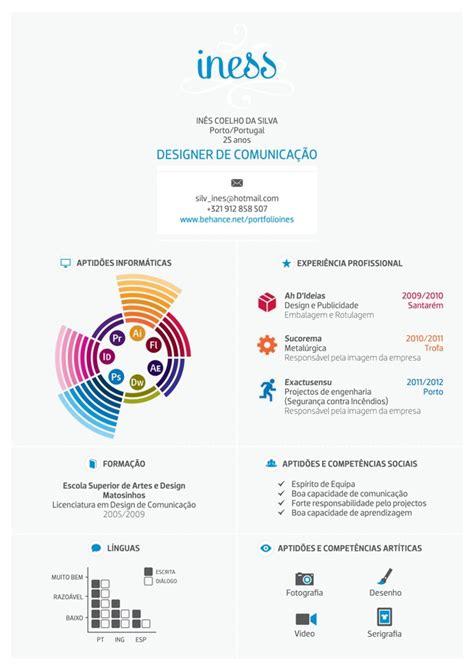 curriculum vitae design behance curriculum vitae by ines silva via behance curr 237 culos