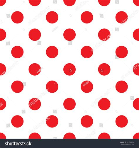 seamless polka dot pattern vector background seamless red polka dot pattern background stock vector