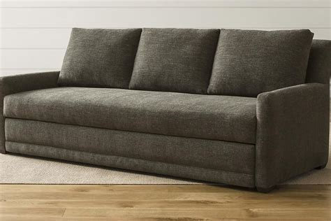 reviews of sleeper sofas crate and barrel sleeper sofa