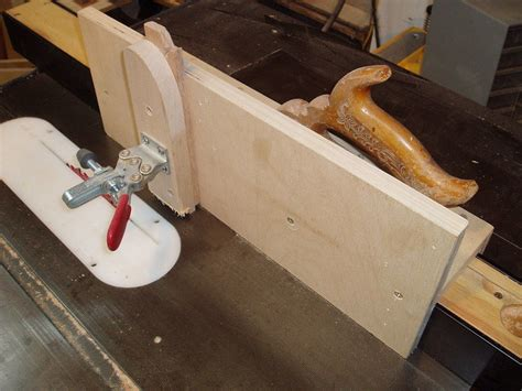 table saw tenon jig by lumberjocks