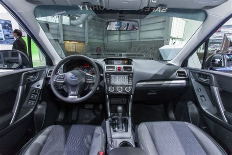 subaru forester 2016 interior 2016 subaru forester review and information united cars