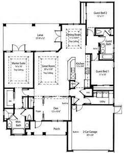 Kitchen Great Room Floor Plans by Plan W33009zr Net Zero Ready Home Plan E Architectural