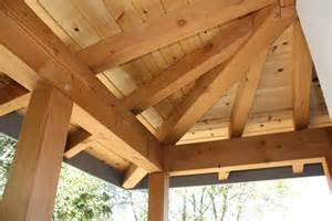 framing a hip roof porch kensington sip and timber home pacific post beam