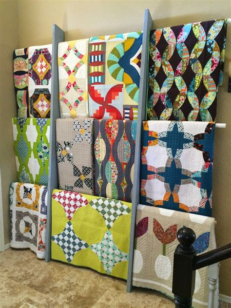 Ways To Hang Quilts by Top Ten Tuesday Quilt Labels Display And Storage