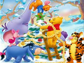 christmas backgrounds winnie pooh christmas backgrounds