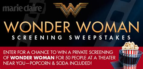 Hsn Spin2win Sweeps Enter To Win 25 Hsn Gift Card More Hip2save - marie claire wonder woman hometown screening sweepstakes 6 4 17 1ppd18 sweeties