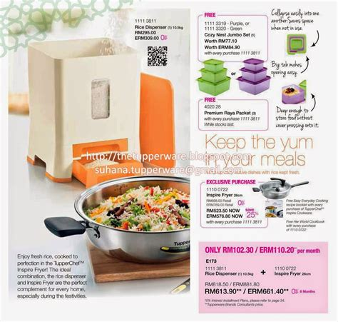 Katalog Tupperware Blossom pin blossom collection tupperware katalog promo murah