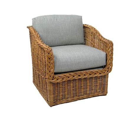Indoor Wicker Furniture by Classic Square Back Lounge Chair Wicker Material