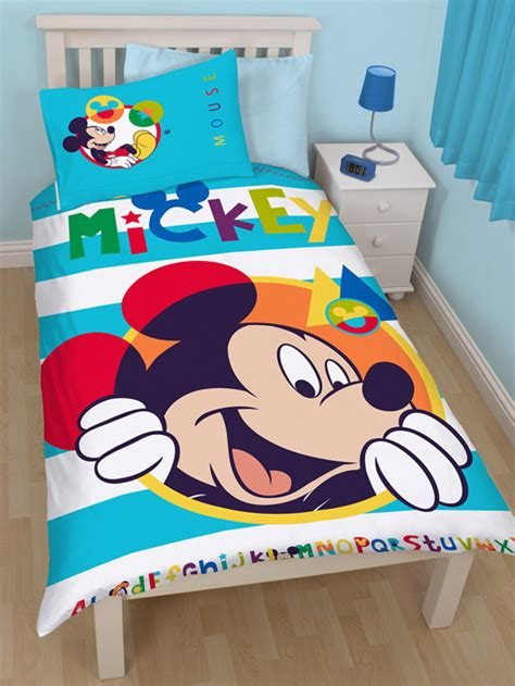 Bedcover Set Single No3 Motif Mickey Mouse mickey mouse boo single panel duvet cover bedding set