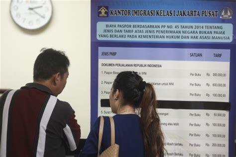 buat e paspor indonesia imigrasi batalkan aturan deposit rp 25 juta untuk buat paspor